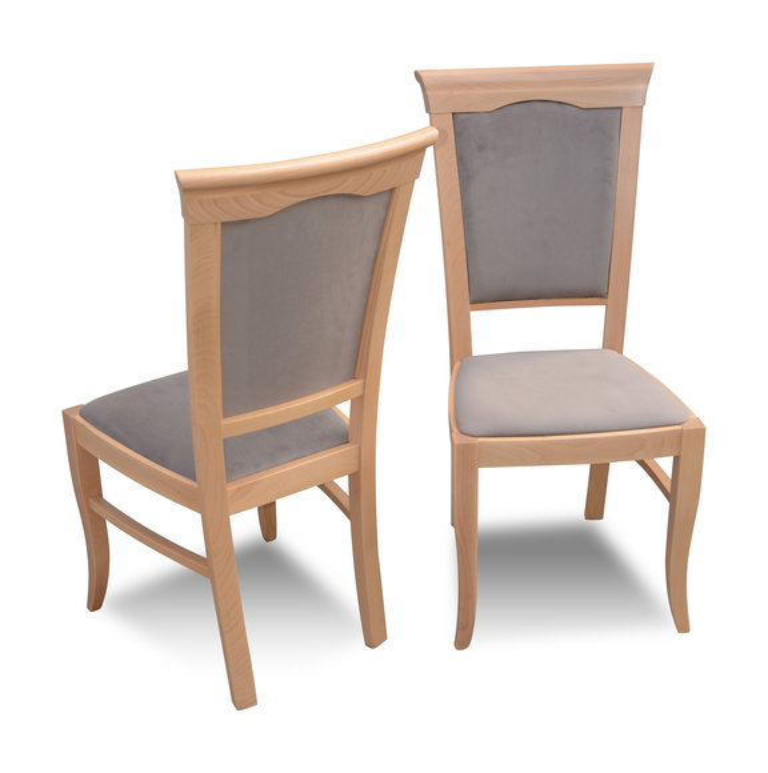 Luxus Design Polster Stuhl Stuhle Sitz Lehn Buro Esszimmer Massiv