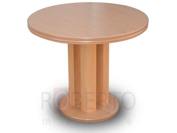 Runder Tisch Rund Tische Esszimmer Wohnzimmer Holz Ausziehbar Bis 90
