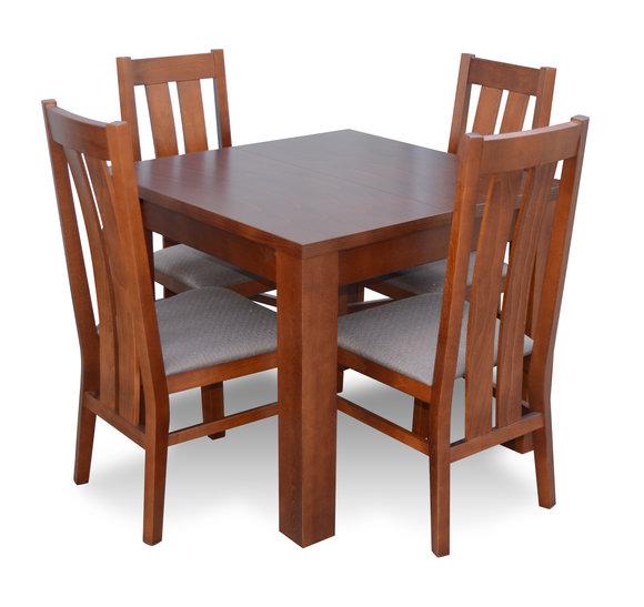 Exceptionnel Design Stuhl Set Esszimmer Holztisch Tische Garnitur +4 Stühle Stuhl  Essgarnitur