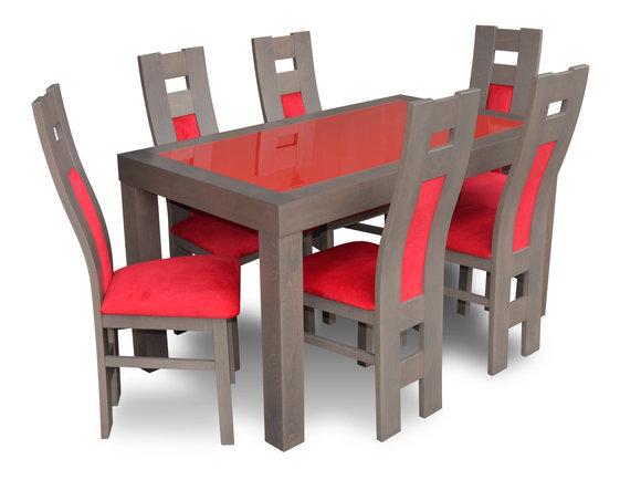 Esstisch Sitzgarnitur Tisch 6 Stühle Stuhl Set Esszimmer Garnituren