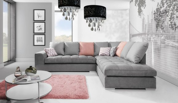 Designer Eckcouch L-Form Premium Klasse Modern Stil ...