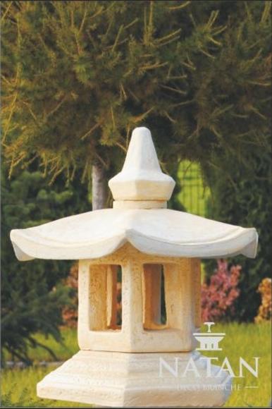 Außenleuchte Laterne Lampe Terrassen Stein Skulptur Leuchte Beleuchtung Garten