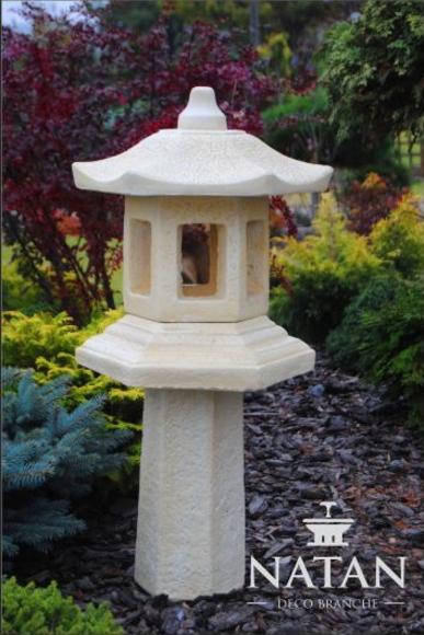 Lampe Außenleuchte Garten Skulptur Beleuchtung Figur Terrassen Leuchte Stein Neu