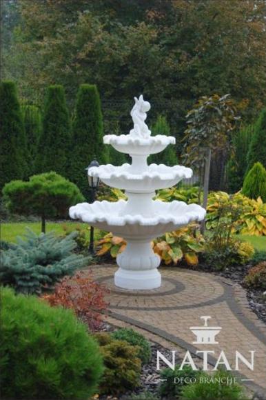 Zierbrunnen Springbrunnen Brunnen Garten Dekoration Fontaine Teich GECO  RAGAZZI1