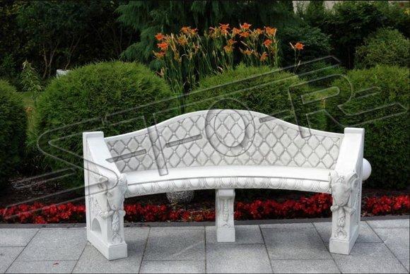 Bank Sitzbank Terrasse Garten Ruhige Ecke Beton Sitz Bank Möbel Römischer Stil