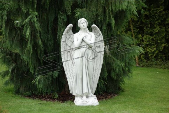 Engel Figur Statue Grabstein Figuren Statuen Skulptur Skulpturen Garten  140cm