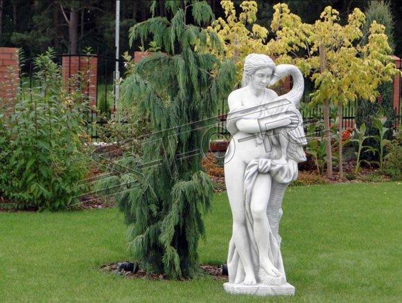 Frau 160cm Skulptur Design Figur Statue Garten Figuren Statuen Skulpturen 101100