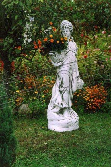 Römische Figur Statue Frau Figuren Statuen Skulptur Skulpturen Garten 140cm 253