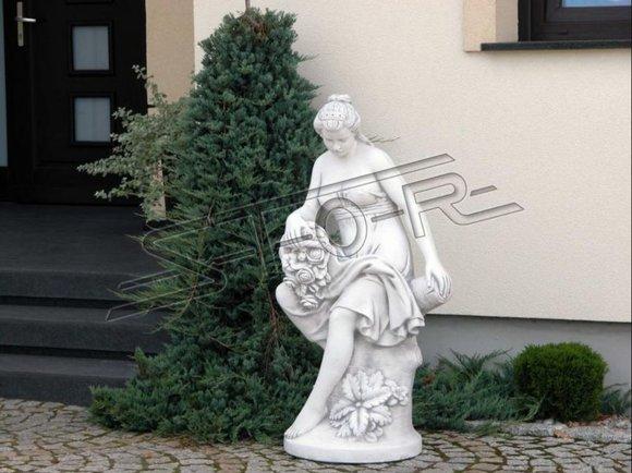 Römische Figur Statue Frau Figuren Statuen Skulptur Skulpturen Garten 121cm Neu
