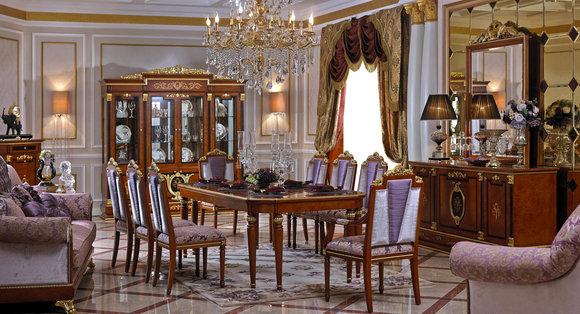 4 Stühle Set Esszimmer Designer Holz Stuhl Garnitur Antik Stil Barock Rokoko E38