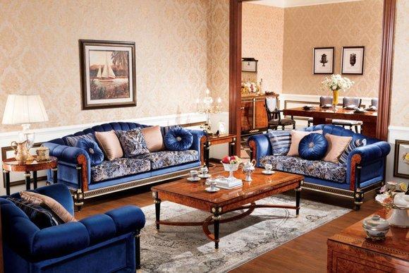 3 Sitzer Sofas Couchen Couch Sofa Polster Garnitur Königliche ohne 2+1 Barock