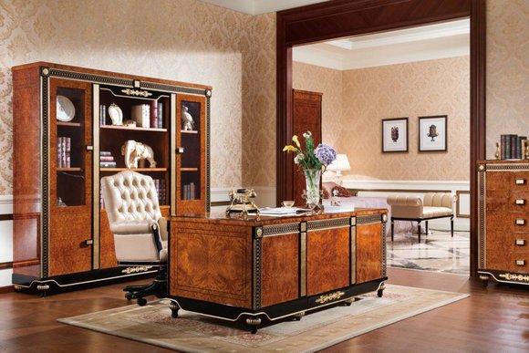 Tisch Klassischer Esstisch Tische Polierter Hochglanz Barock Rokoko Esstische