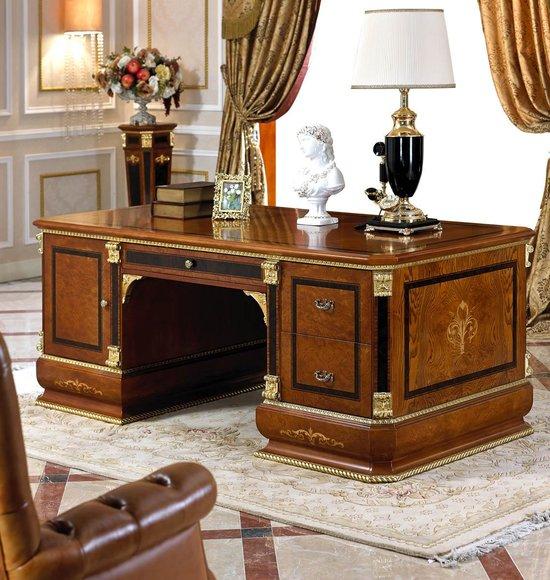 Edler Design Antik Stil Büro Schreibtisch Walstreet Banker Schreibtische Tische