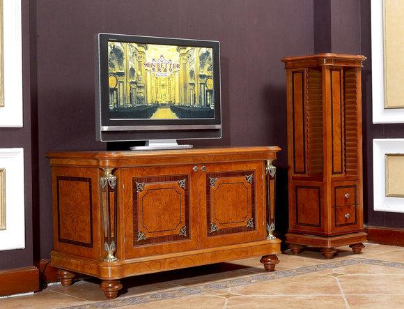RTV TV- Schrank TV- Tisch Wohnzimmer Kommode Lowboard Barock Rokoko  Sideboard
