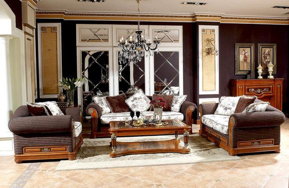 3+1 Sitzer Echtze Handarbeit Sofa Couch Polster Sitz Garnitur Luxus Mega Klasse
