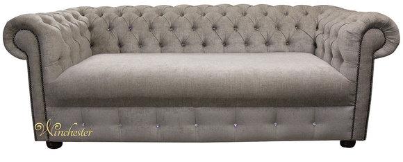 CHESTERFIELD 3-Sitzer Sofa Edles Design Klassisches Stil ...