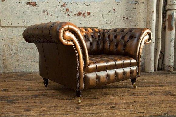 Groovy Chesterfield Leder Sofa 1 Sitzer Sofa Polster Sofas Design Luxus Couch Sofas Neu Alphanode Cool Chair Designs And Ideas Alphanodeonline