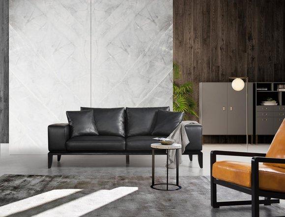 Modern Dreisitzer Sofa Extra Klasse Design Stil Premium ...