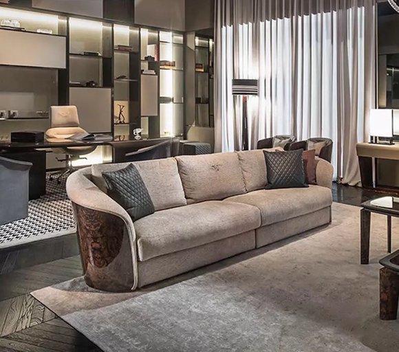 Dreisitzer Couch Polster Design Sofa Moderne 3er Sitz ...