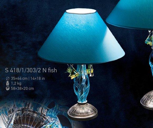 Klassisch Nachttischleuchte Tischleuchte Tischlampe Bohemia Lampe Tisch Leuchte