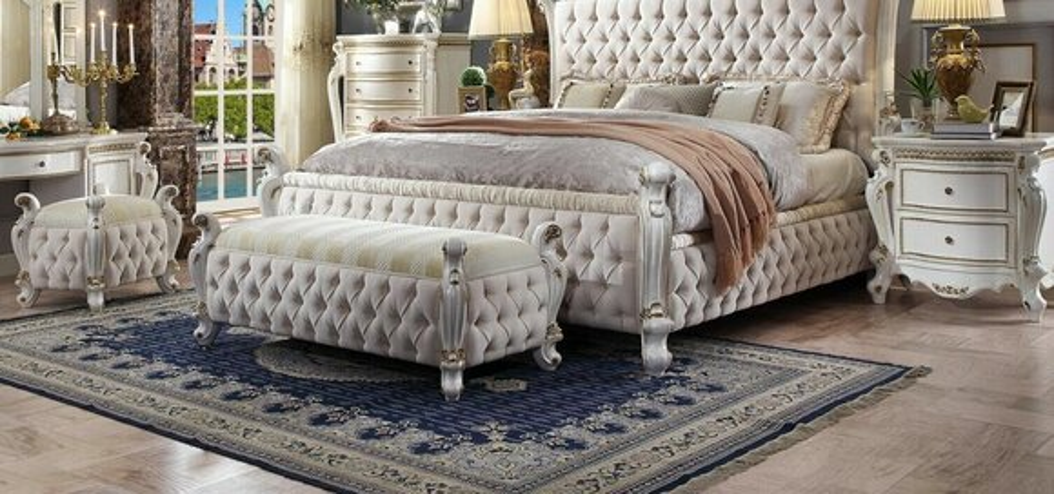 Chaiselongue Liege Sessel Liegesessel Hocker Luxus Ottomane Chestefield Textil