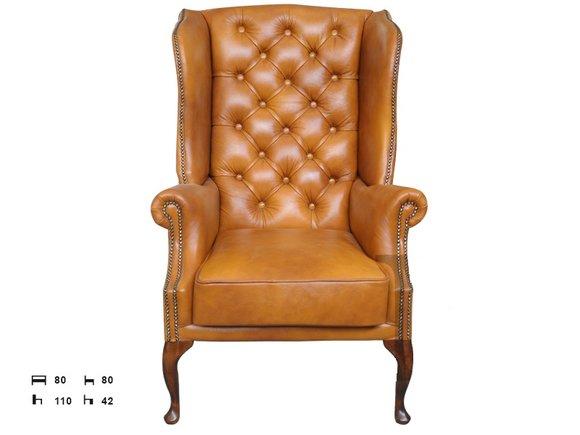 Chesterfield sofas und ledersofas charly for Design stuhl charly