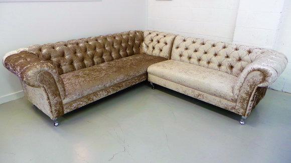 Chesterfield ecksofa stoff  www.JVmoebel.de - la design... Möbel | Ledersofa | Sofa