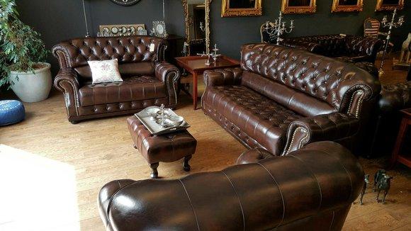 chesterfield sofas und ledersofa arlington designersofa sofagarnitur. Black Bedroom Furniture Sets. Home Design Ideas