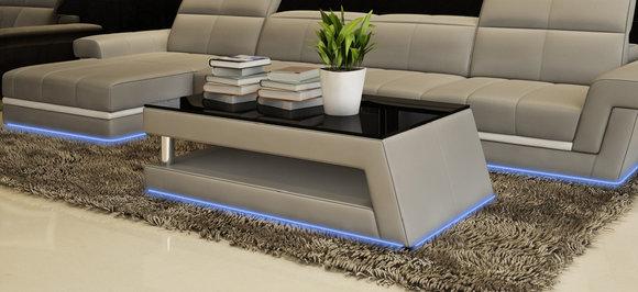 Moderner designer glastisch beistell sofa tische wohnzimmer tisch ...