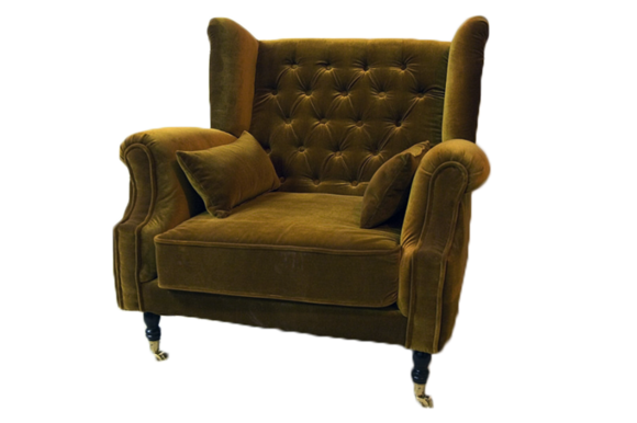 Chesterfield Ohrensessel Sessel Couch Relax Polster Designer Couchen Liverpool