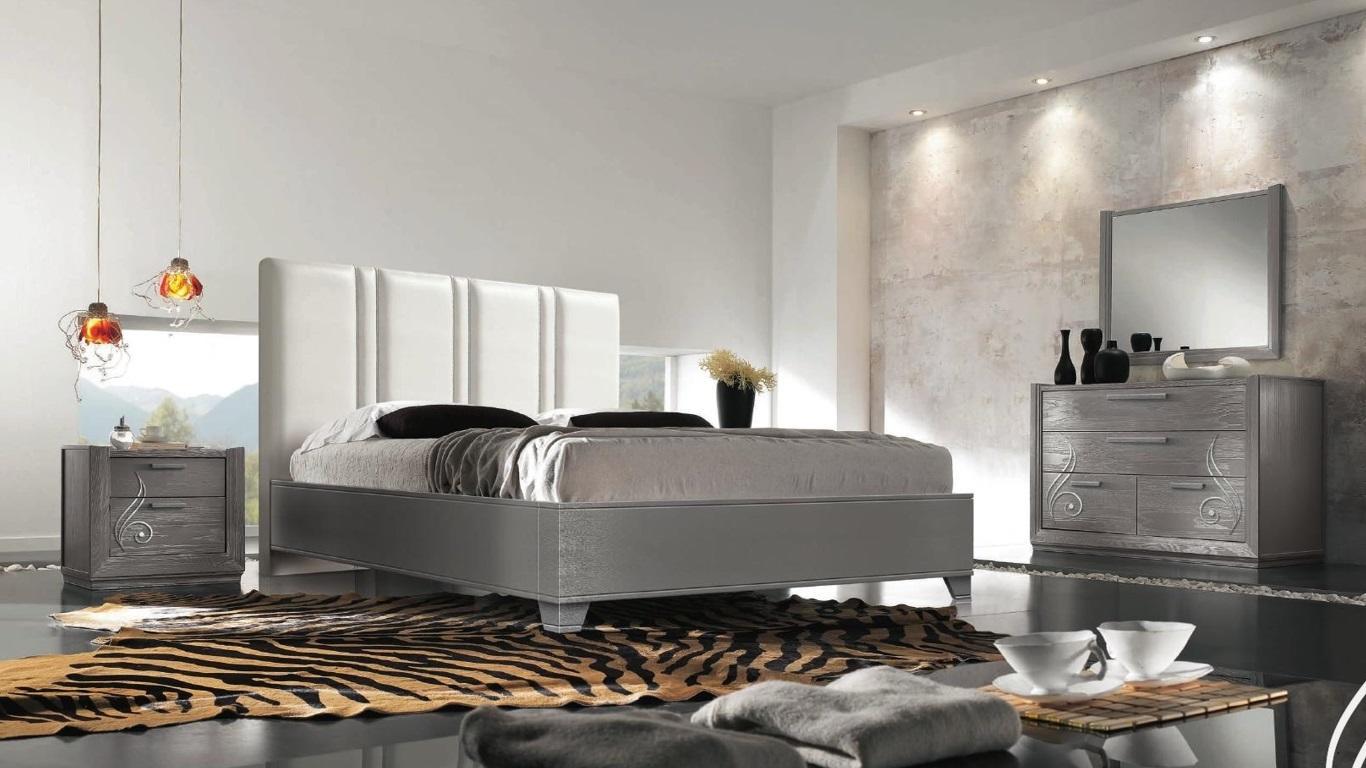 Oak Echtholz Bett Boxspring Betten Massiv Holz Polster Design ...