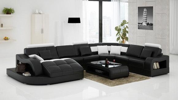 Wohnlandschaft Ecksofa Polster Couch Sofa Eck Garnitur Multifunktion Big XXL New