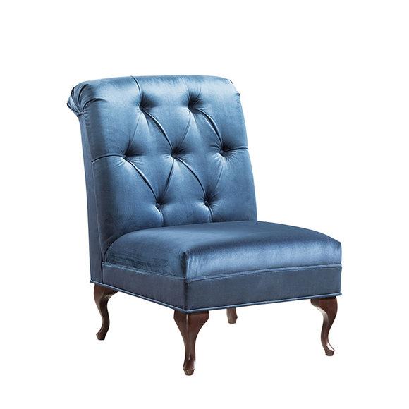 Chesterfield Ohrensessel Sessel Polster Fernseh Büro Couch Echtes CL- F2