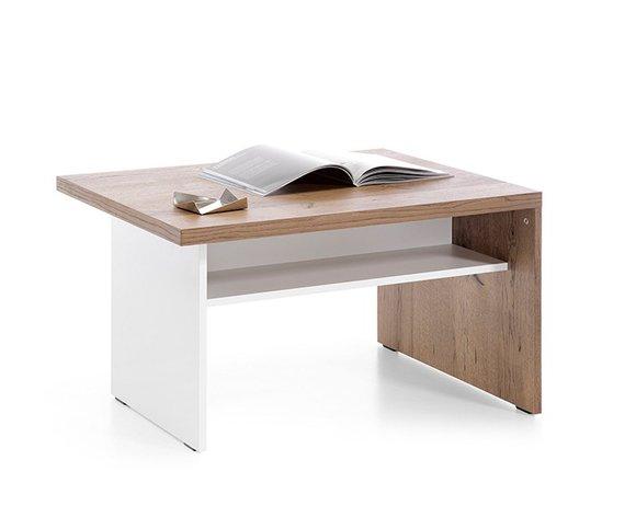 Klassischer Couchtisch Holztisch Beistelltisch Design Tische Wohnzimmer CM S3