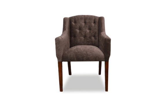 Eleganter Chesterfield Sessel Stuhl Polster Lehnstuhl Lounge Club Sitz Stühle