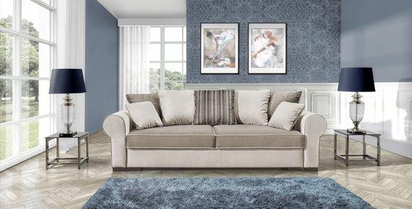 Sofa Schlafsofa Designer 3 Sitzer Sofa Mit Bettfunktion Bettkasten