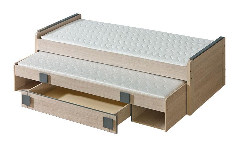 Doppelbett mit Bettkasten 'Gumi'