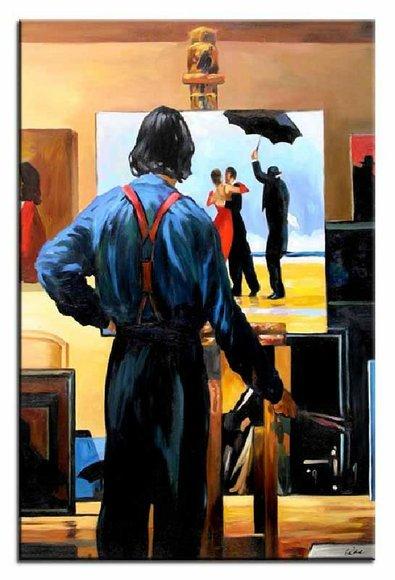 Moderne Kunst Ölbild Bild Bilder Ölbilder Handarbeit Ölgemälde ...