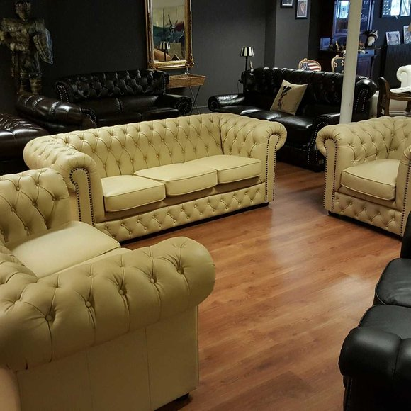 chesterfield sofas und ledersofa lord forest designersofa. Black Bedroom Furniture Sets. Home Design Ideas