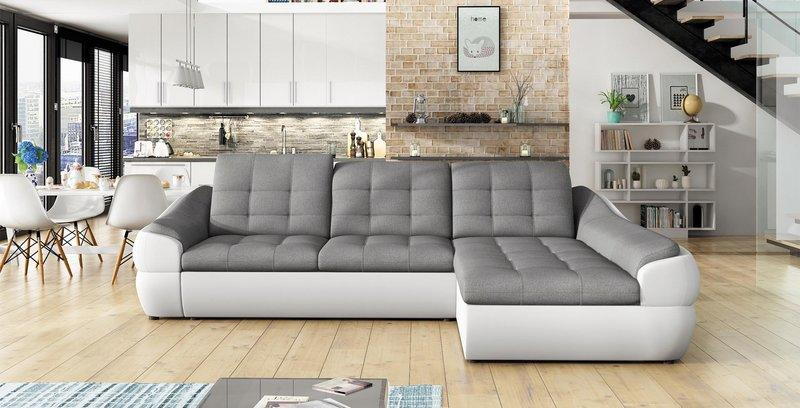 Sofa Schlafsofa Designer Sofa Mit Bettfunktion + Bettkasten Ecksofa Couch  NEU Infinity Mini