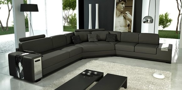 sofas ledersofas lima bettfunktion designersofa ecksofa schlaffunktion. Black Bedroom Furniture Sets. Home Design Ideas