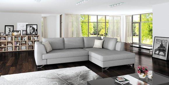 Sofa Schlafsofa Designer Sofa Mit Bettfunktion + Bettkasten Ecksofa Couch  NEU Mohito