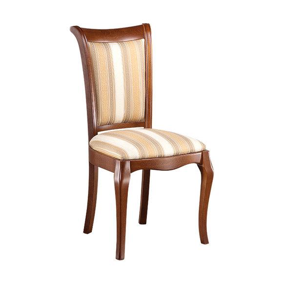 Klassische Stühle Stuhl Esszimmerstuhl Holzstuhl Royal Landhaus Stil Prato PR-09