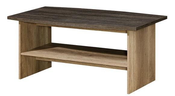 Couchtisch 120 x 55 cm cm Wohnzimmertisch Design Beistelltisch Tisch braun  Eiche R12