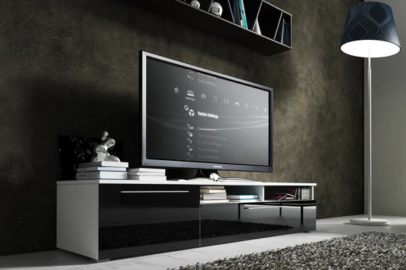 tv schrank lowboard sideboard hochschrank r tv 3. Black Bedroom Furniture Sets. Home Design Ideas