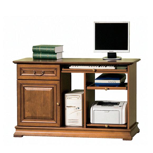 Klassische Schreibtisch Büromöbel Tisch Büro Chef Schreibtische Echtholz SE-S3