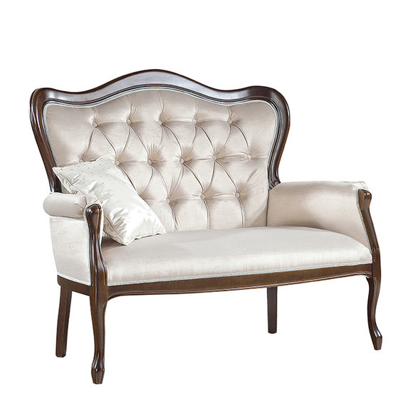 Chippendale Sofa Couch Polsterbank Bank Sitzbank 3er Bank Sofa Couch Model W-2