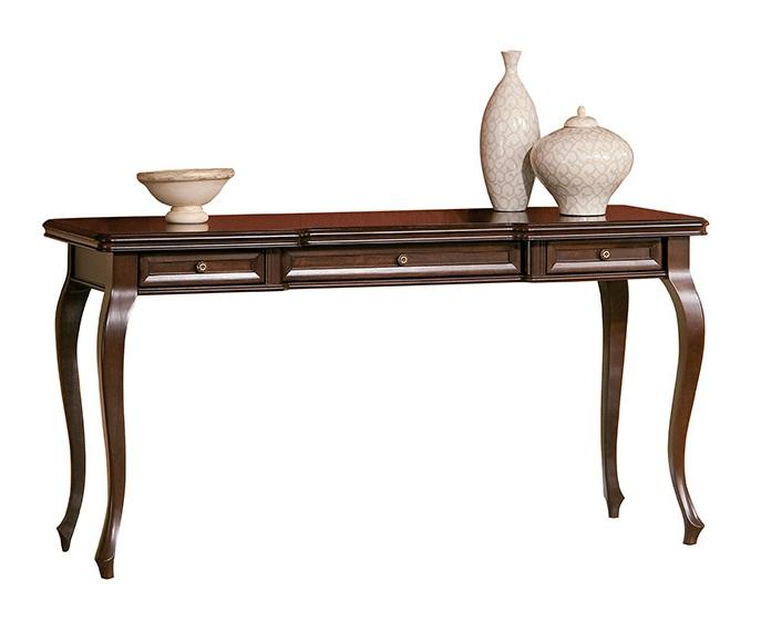 Klassischer Tisch Tische Sekträter Bürotisch Holz Antik Stil Italienische  Möbel