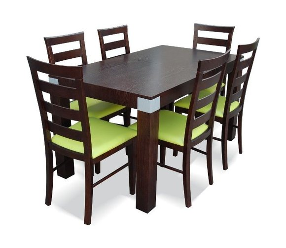 essgruppe mit tisch und st hlen wie esszimmerset z04 von jv m bel. Black Bedroom Furniture Sets. Home Design Ideas