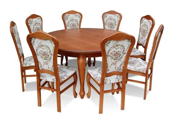 Essgruppe Esstisch Tisch mit 10 x Stühlen Model Z16